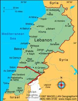 Lebanon_map