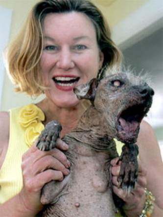 and the world's ugliest dog